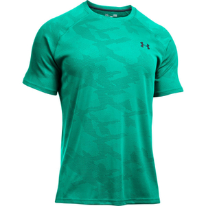 Under Armour Men's Jacquard Tech Short Sleeve T-Shirt - Green