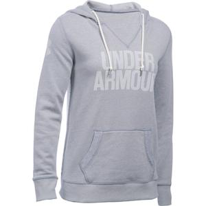 Under Armour Women's Favourite Fleece Hoody - True Grey Heather