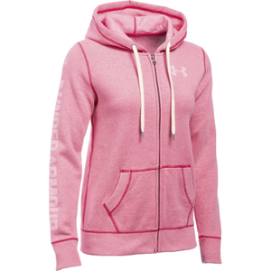 Under Armour Women's Favourite Fleece Full Zip Hoody - Knock Out