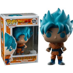 Dragonball Z Resurrection F Limited Edition Super Saiyan God Goku Funko Pop! Figur