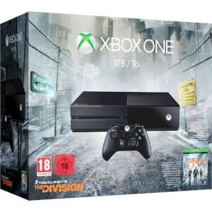 Xbox One 1TB Console - Includes Tom Clancy's The Division