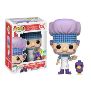Strawberry Shortcake Purple Pieman & Berry Bird Pop! Vinyl Figure SDCC 2016 Exclusive