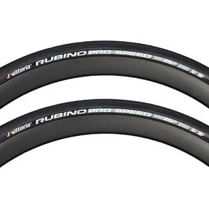 Vittoria Rubino Pro Speed G+ Isotech Clincher Tyre Twin Pack