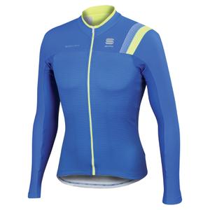 Sportful BodyFit Pro Thermal Long Sleeve Jersey - Blue