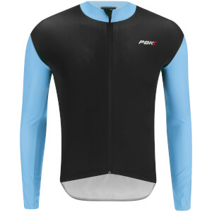 PBK Stelvio Water Repellent Long Sleeve Jersey - Light Blue