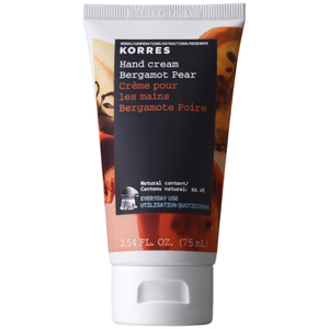 Korres Bergamot Pear Hand Cream 75ml