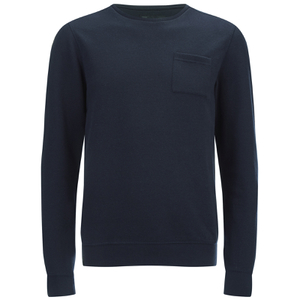 Dissident Men's Clere Pique Sweatshirt - True Navy