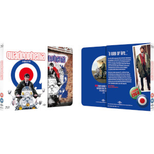 Quadrophenia - Zavvi Exclusive Limited Edition Slipcase Steelbook (Limited to 2000 Copies)