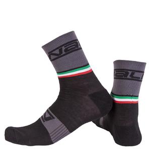 Nalini Salita Socks - Black/Grey