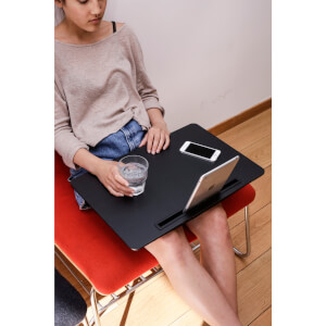 Large iBed Lap Desk - Black