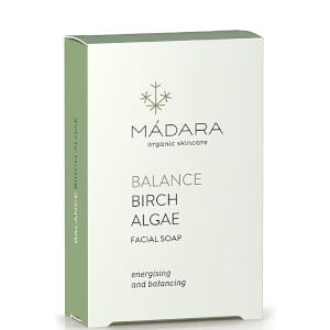 MÁDARA Birch Algae Balancing Face Soap 70g