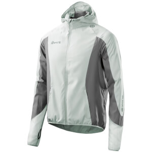 Skins Plus Men's Gravity Packable Jacket - Aluminium/Pewter