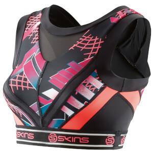Skins DNAmic Women's Vest Crop Top - Junkyard Geo