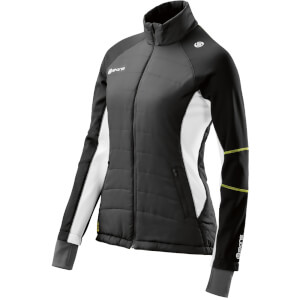 Skins Plus Women's Aura Run Puffer Jacket - Black/Cloud