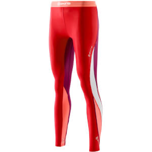 Skins DNAmic Women's Long Tights - Rossa