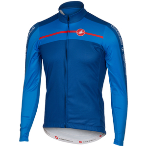 Castelli Velocissimo Long Sleeve Jersey - Blue
