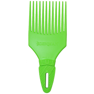 Denman D17 Curl Tamer Comb - Green
