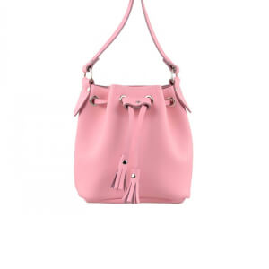 Grafea Women's Mini Bucket Bag - Pink