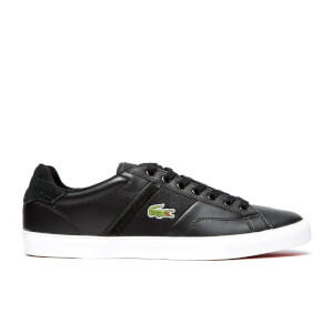 Lacoste Men's Fairlead Snm2 SPM Trainers - Black/Black