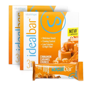 IdealBar 2 Boxes Cinnamon Caramel Crunch
