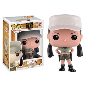 The Walking Dead Rosita Funko Pop! Figuur