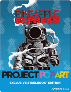 Pineapple Express (POP ART STEELBOOK) - Zavvi Exclusive Limited Edition Steelbook (Limted to 500 Units)