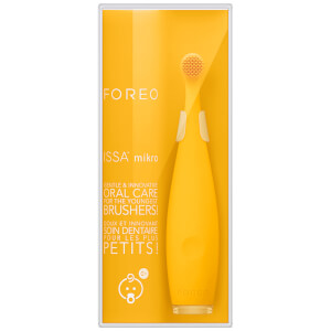 FOREO ISSA™ mikro Brosse à Dents – Jaune Tournesol