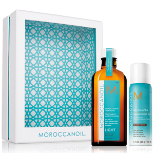 Moroccanoil Home and Away Light Set - Dark