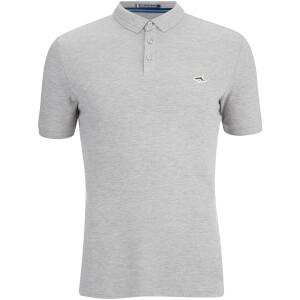 Le Shark Men's Byland Short Sleeve Polo Shirt - Light Grey Marl