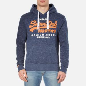 Superdry Men's Premium Goods Duo Hoody - Nautical Navy Grit