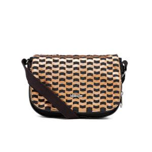 Kipling Women's Earthbeat Small Cross Body Bag - Woven Tobacco