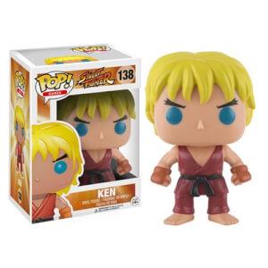 Street Fighter Ken Funko Pop! Figuur