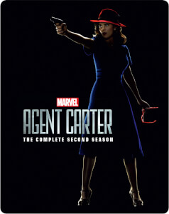 Marvel's Agent Carter Season 2 - Zavvi exklusives (UK Edition) Limited Edition Steelbook
