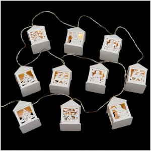 Bark & Blossom Led String Lights - White