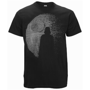 Star Wars: Rogue One Mens Dotted Darth Vadar T-Shirt - Zwart