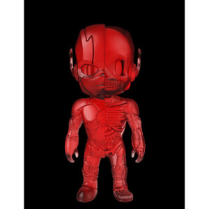 DC Comics XXRAY Figure The Flash Clear Red Edition 10 cm