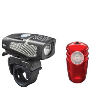 Niterider Lumina OLED 350 and Solas 100 Light Set
