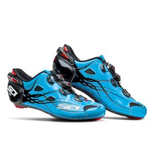 Sidi Shot Carbon Cycling Shoes - Blue Sky/Black
