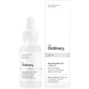 The Ordinary Niacinamide 10% + Zinc 1% High Strength Vitamin and Mineral Blemish Formula 30ml