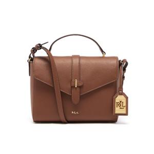 Lauren Ralph Lauren Women's Raquel Messenger Bag - Luggage
