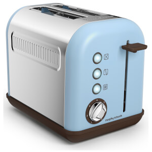Morphy Richards 222003 Accents 2 Slice Toaster - Azure