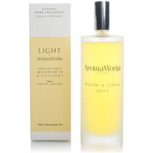 AromaWorks Light Range Room Mist - Mandarin and Vetivert