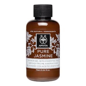 APIVITA Pure Jasmine Mini Shower Gel with Essential Oils 75ml