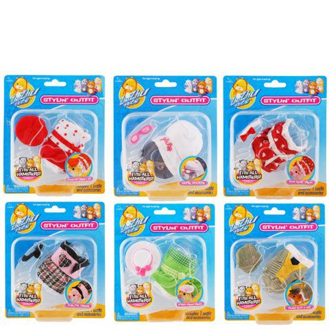 Zhu Zhu Pets Spring Outfits -  Assortment