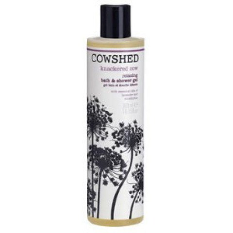 Gel de baño y ducha relajante Cowshed Knackered Cow 300ml