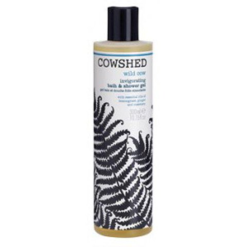 Cowshed Wild Cow - Invigorating Bath & Shower Gel (300ml)