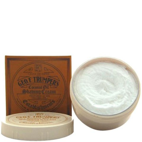 Trumpers Shave Cream - Coconut 200gm Tub