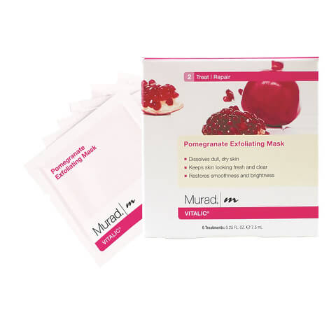 Pomegranate Exfoliating Mask 6 x 7.5ml