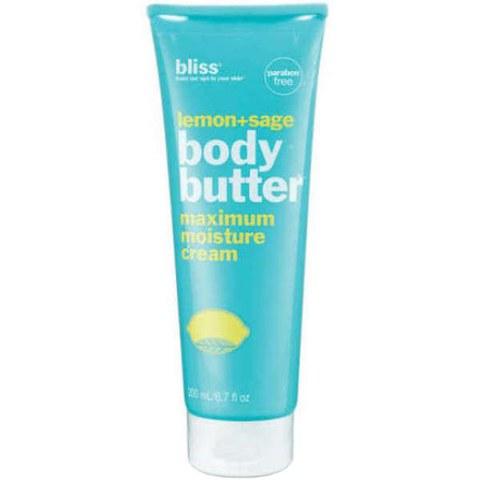 bliss Body Butter - Lemon & Sage (200ml)