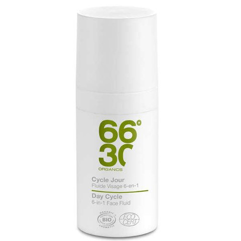 66°30 Organics Day Cycle Ultra-moisturising Face Fluid (Feuchtigkeitsfluid) 15ml